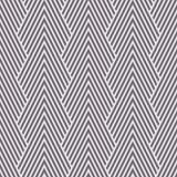 Las montañas ópticas del galón del art déco blanco y negro inverso inconsútil modelan vector stock de ilustración
