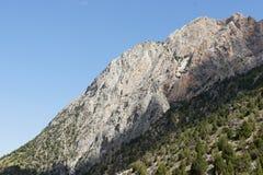 Las montañas acercan a Dugoba, Pamir-alay Imagen de archivo libre de regalías
