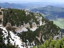 Las montañas alemanas Foto de archivo libre de regalías
