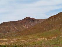 Las montañas coloridas en la isla Fuerteventura Foto de archivo libre de regalías