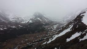Las montañas de Alaska fotografía de archivo libre de regalías