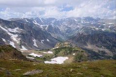 Las montañas de Beartooth de Montana Foto de archivo libre de regalías