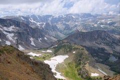 Las montañas de Beartooth de Montana Imagen de archivo libre de regalías