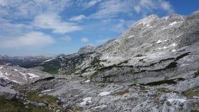 Las montañas de Eslovenia, julische alpen, triglav imágenes de archivo libres de regalías