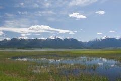 Las montañas de la misión Imagen de archivo