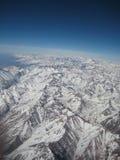 Las montañas de los Andes Fotografía de archivo