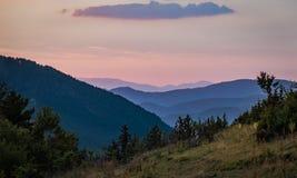 Las montañas de Rhodope Imagen de archivo libre de regalías