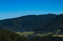 Las montañas de Rhodope Fotografía de archivo libre de regalías