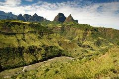 Las montañas de Simien, Etiopía fotografía de archivo libre de regalías