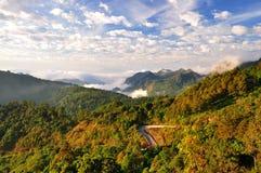 Las montañas de Tailandia Imágenes de archivo libres de regalías