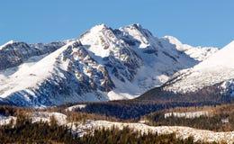 Las montañas de Tatra fotos de archivo