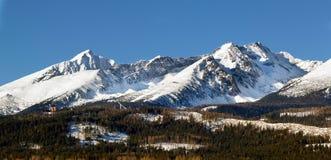 Las montañas de Tatra Imagenes de archivo