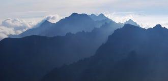Las montañas de Tatra Imagen de archivo