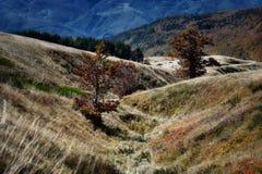 Las montañas de Toscana, paraíso están después II Fotografía de archivo libre de regalías