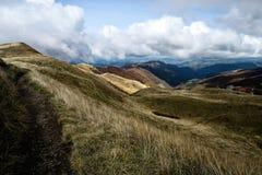 Las montañas de Toscana, paraíso están después III Fotos de archivo libres de regalías