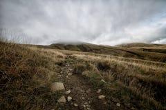 Las montañas de Toscana, paraíso están después IV Fotografía de archivo