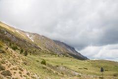 Las montañas del Apennines central Fotos de archivo