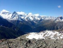 Las montañas del Cáucaso 5 Imagen de archivo