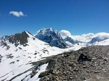 Las montañas del Cáucaso 7 Fotos de archivo libres de regalías