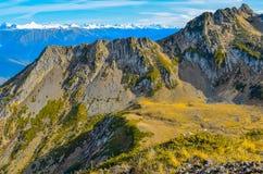 Las montañas del Cáucaso imagen de archivo libre de regalías