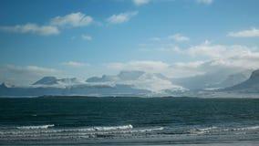 Las montañas del océano varan almacen de video