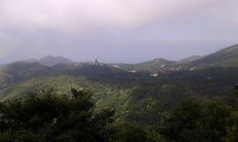 Las montañas en Hong Kong Foto de archivo libre de regalías