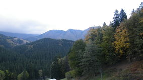 Las montañas en SVK Fotografía de archivo