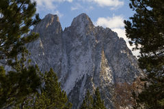 Las montañas encantadas foto de archivo libre de regalías