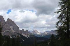 Las montañas enormes Fotos de archivo