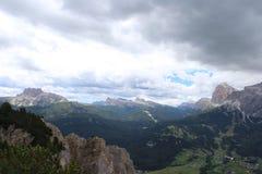 Las montañas enormes Imagen de archivo