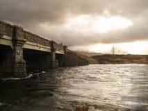 Las montañas escocesas Fotos de archivo