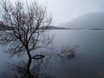 Las montañas escocesas Fotos de archivo libres de regalías