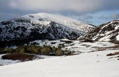 Las montañas Escocia Fotos de archivo libres de regalías
