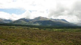 Las montañas, Escocia Imagen de archivo libre de regalías