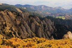 Las montañas hermosas de Ciucas en Rumania Fotos de archivo libres de regalías