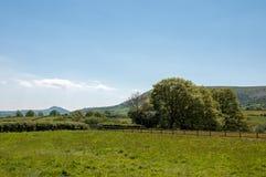 Las montañas negras de Inglaterra y de País de Gales Foto de archivo libre de regalías