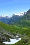 Las montañas noruegas Fotografía de archivo libre de regalías