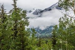 Las montañas rocosas Fotos de archivo libres de regalías