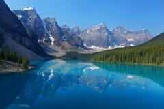 Las montañas rocosas canadienses Fotos de archivo