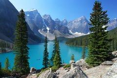 Las montañas rocosas canadienses Fotos de archivo libres de regalías