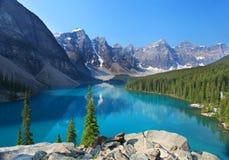 Las montañas rocosas canadienses Fotografía de archivo