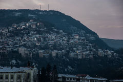 Las montañas tienen sus secretos Fotografía de archivo