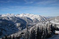 Las montan@as austríacas imagen de archivo libre de regalías