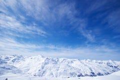 Las montan@as son los grandes sistemas del rango de montaña de Eu Imagenes de archivo