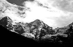 Las montan@as suizas Imagen de archivo libre de regalías