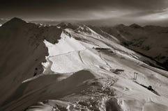 Las montan@as suizas imagenes de archivo