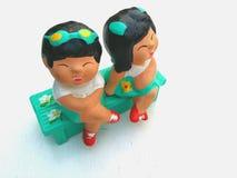 Las muñecas Foto de archivo