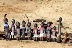 Las muñecas africanas Fotos de archivo
