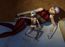 Las muñecas frecuentadas nunca duermen libre illustration