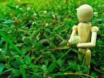 las muñecas que era la madera deflower Fotos de archivo libres de regalías